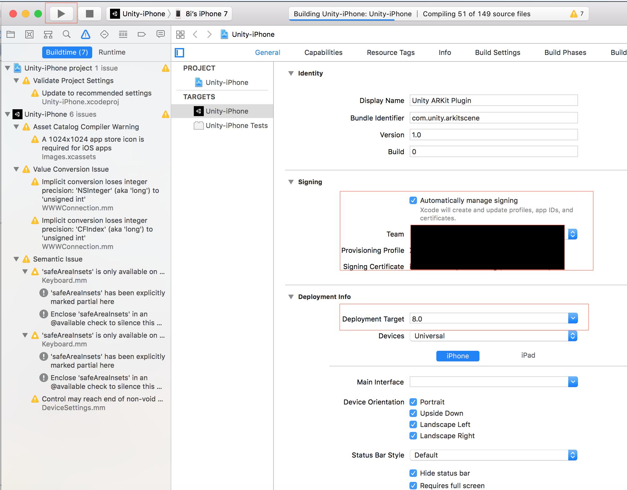 ARKit Tutorial — 8iUnityPlugin 0 6 0 documentation